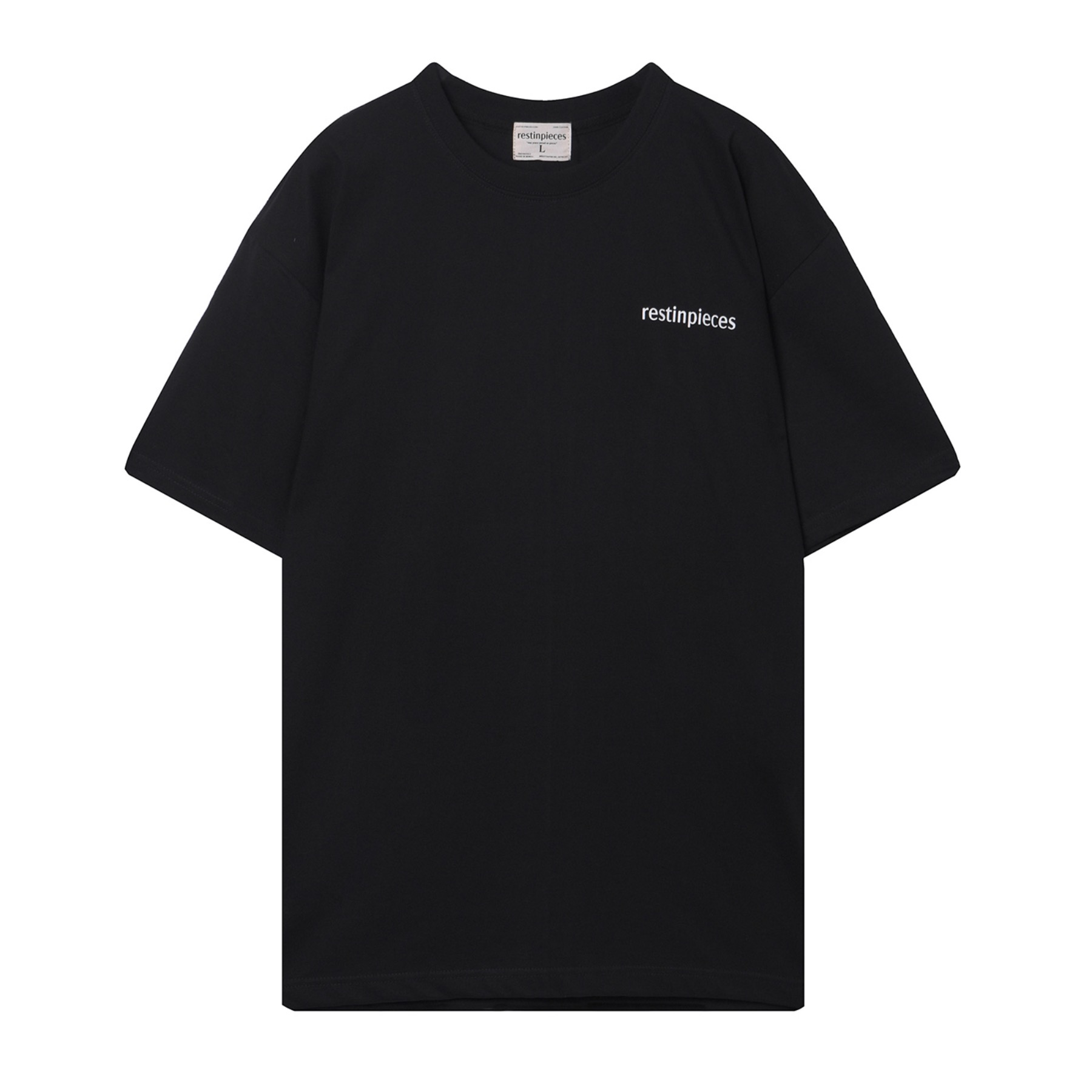 short sleeve t-shirt [black]